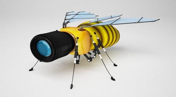 Ilmuwan Bikin Robot Pintar Mirip Lebah Asli