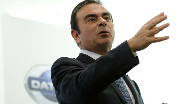 F: CEO Nissan Carlos Ghosn (nissan global)