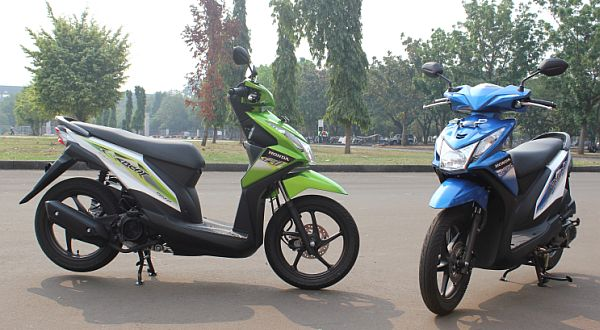 F: All New Honda BeAT- FI (Septian P / Okezone)
