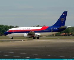 Dikira BIM, Pesawat Sriwijaya Mendarat di Tabing