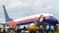 Pesawat Sriwijaya Tergelincir di Pontianak Berhasil Dievakuasi