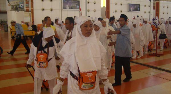 Jamaah haji Indonesia (Foto: Dok. Okezone)