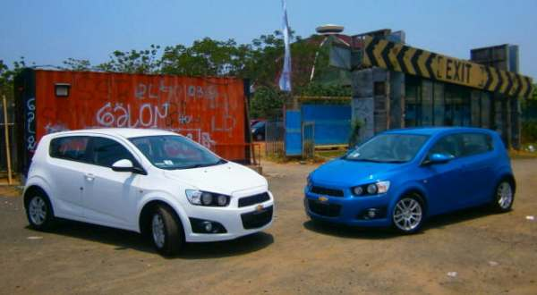 F: All New Chevrolet Aveo (Septian P / Okezone)