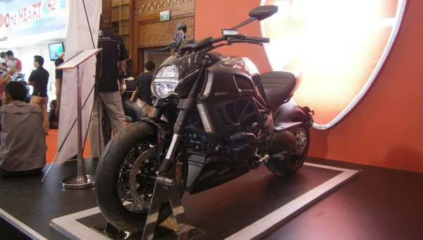 F: Ducati Diavel Chrome (Septian P/Okezone)