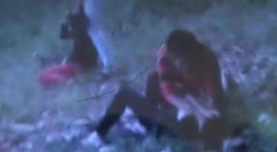 Cuplikan video kekerasan di Tebingtinggi (Repro: Abdullah Sani/Sindo TV)