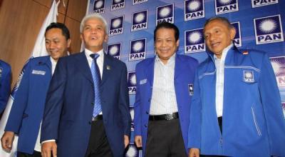 Ketum PAN Bersama Amien Rais (Foto: Dok. Okezone)
