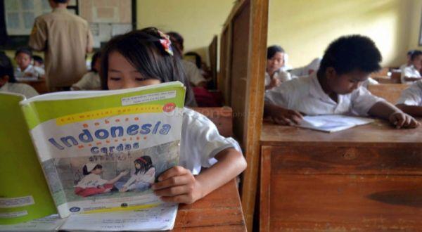 Ilustrasi: siswa belajar di ruang kelas. (Foto: Dede Kurniawan/Okezone)