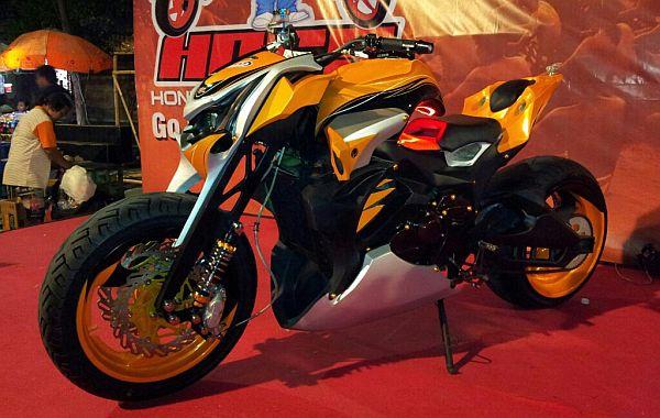 f Honda Megapro 2006 Septian