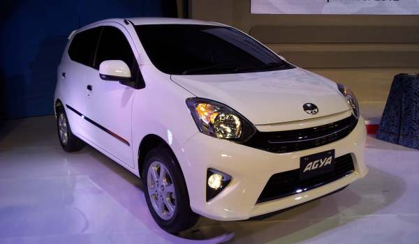 F: Toyota Agya (Septian P/Okezone)