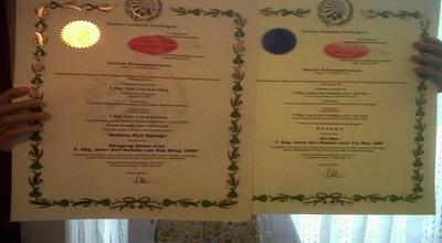 Piagam gelar kebangsawanan Keraton Solo (Foto: Bramantyo/Okezone)