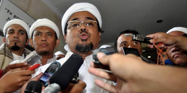 Ketua Umum FPI Habib Rizieq Shihab (Foto: Runi S/okezone)