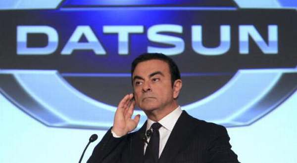 F: CEO Renault-Nissan Carlos Ghosn (Inautonews)