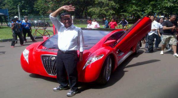F: Tucuxi Electric Car (Fakhri Rezy/Okezone)