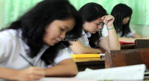 Ilustrasi: suasana ujian nasional. (Foto: Heru H/Okezone)