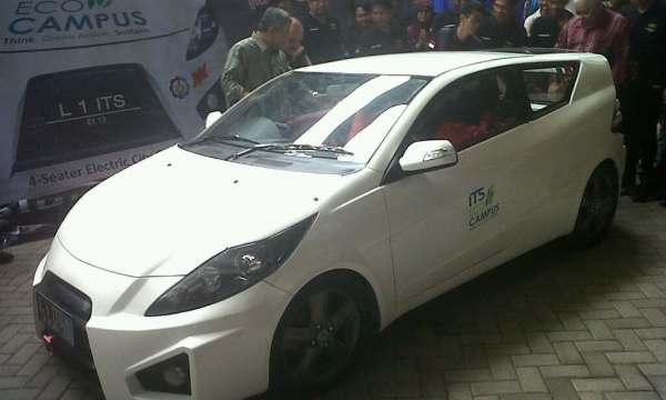 F: Mobil listrik EC ITS (Nurul Arifin/Okezone)