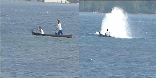 Bom ikan yang dilemparkan nelayan di situs youtube