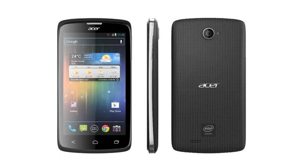 Acer Liquid C1, Smartphone Perpaduan Acer & Intel