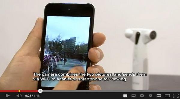 Kamera Ini Bisa Abadikan Gambar 360 Derajat