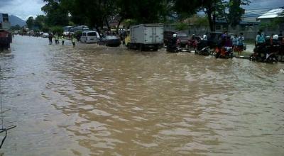 Banjir di Kabupaten Bandung (Ilustrasi, Foto: Iman Herdiana/Okezone)