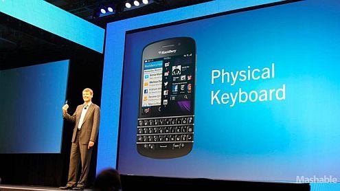 Peluncuran BlackBerry Q10 Tertunda