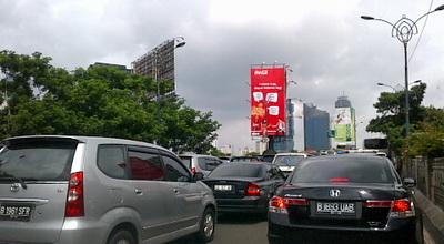 Ilustrasi Papan Iklan di Jakarta (Foto: okezone)