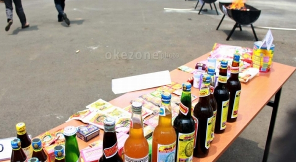 Jamu dan obat-obatan ilegal (Foto: Okezone)