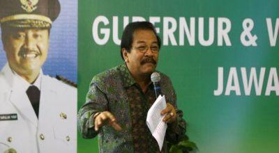 Gubernur Jawa Timur Soekarwo (Foto: Koran SI)