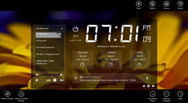 Yuk, Unduh Aplikasi Alarm Clock untuk Windows 8