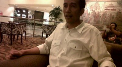 Jokowi saat berada di Jakarta (Foto: Kemas I/okezone)
