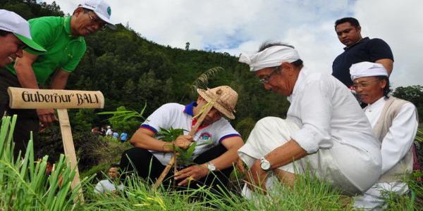 Gubernur Bali, I Made Mangku Pastika (foto: Rohmat/ Okezone)