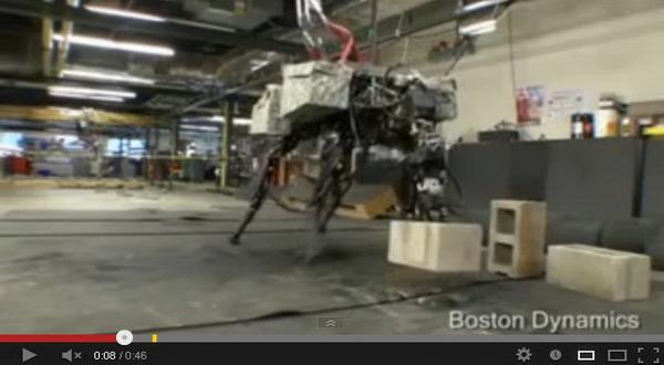 Video Robot Perkasa Bisa Lempar Objek Berat