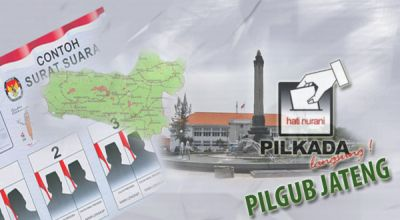 Pilgub Jateng (Foto: Feri U/okezone)