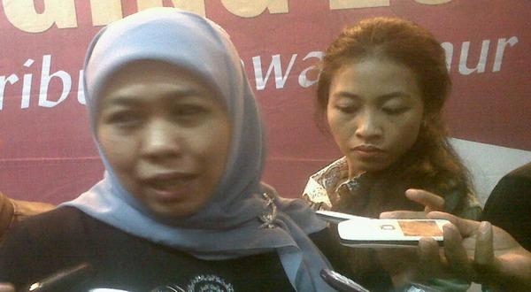 Khofifah Indar Parawansah (foto: Nurul Arifin/Okezone)
