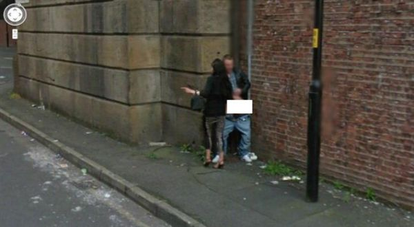 Kamera Google Street Tangkap Pasangan Mesum