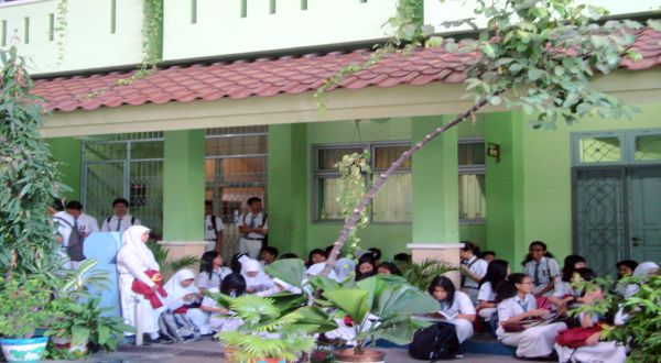 Ilustrasi: pelajar SMA. (Foto: Rifa Nadia/Okezone)