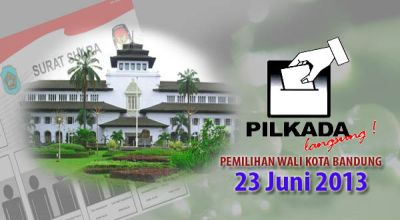 Pemilihan Wali Kota Bandung (Foto: Feri U/okezone)