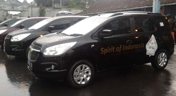 F: Chevrolet Spin (Febri A/Okezone)