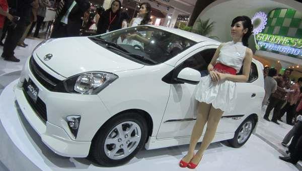 F: Astra Toyota Agya (Azwar F/Okezone)
