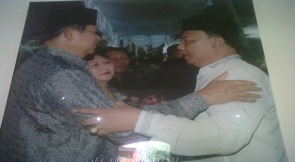 Ki Sabdo Jagad Royo saat bersama Presiden SBY (Foto: Repro)