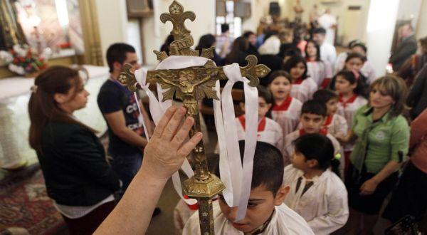 Perayaan Paskah di Irak (Foto: AP)