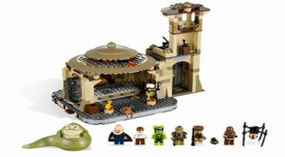Istana Jabba the Hut (Foto: Lego)