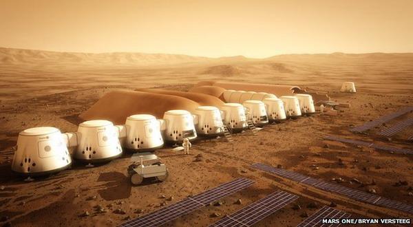 2023, Manusia Bisa Bermukim Selamanya di Mars