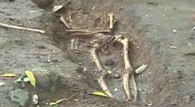 Penemuan kerangka manusia (Ilustrasi, Dok: Sindo TV)
