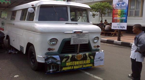 Ambulans si Gajah atau si Dukun (Foto: Iman Herdiana/Okezone)