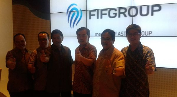 F: FIF memperkenalkan logo terbarunya (Febri A / Okezone)