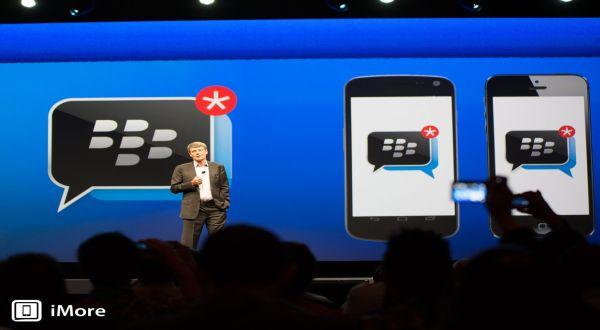 BBM Melenggang di iOS & Android