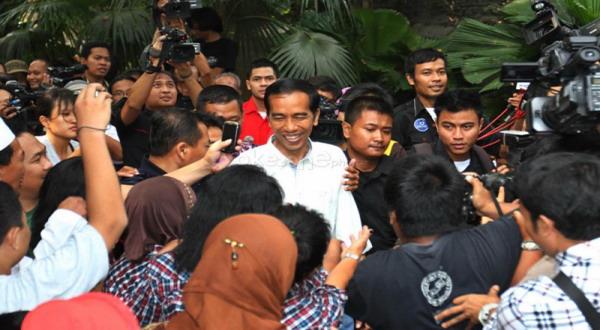 Gubernur DKI Jakarta Joko Widodo (Foto: Dok. Okezone)