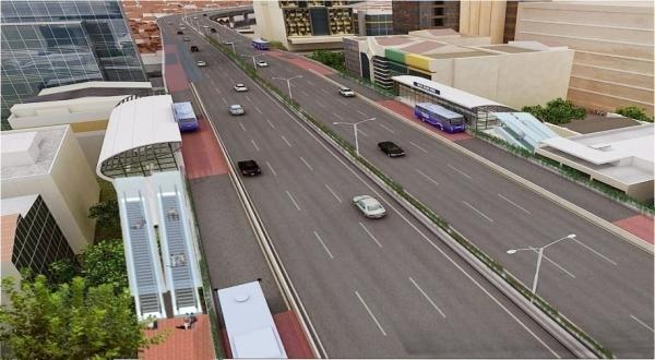 Ilustrasi BRT Tol (Foto: PT JTD)