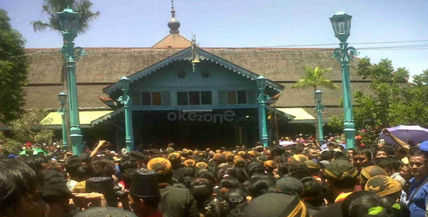 Keraton Surakarta (Foto: Dok Okezone)