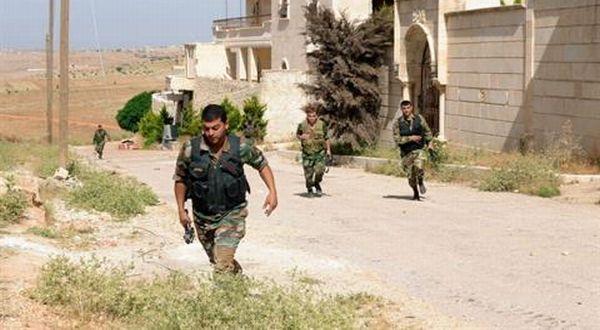 Pasukan Pemerintah Suriah (Foto: Daily Star)